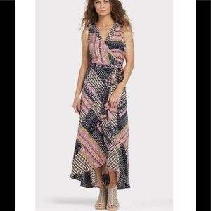 "RAGA ""Hadley"" Wrap Maxi Dress M"